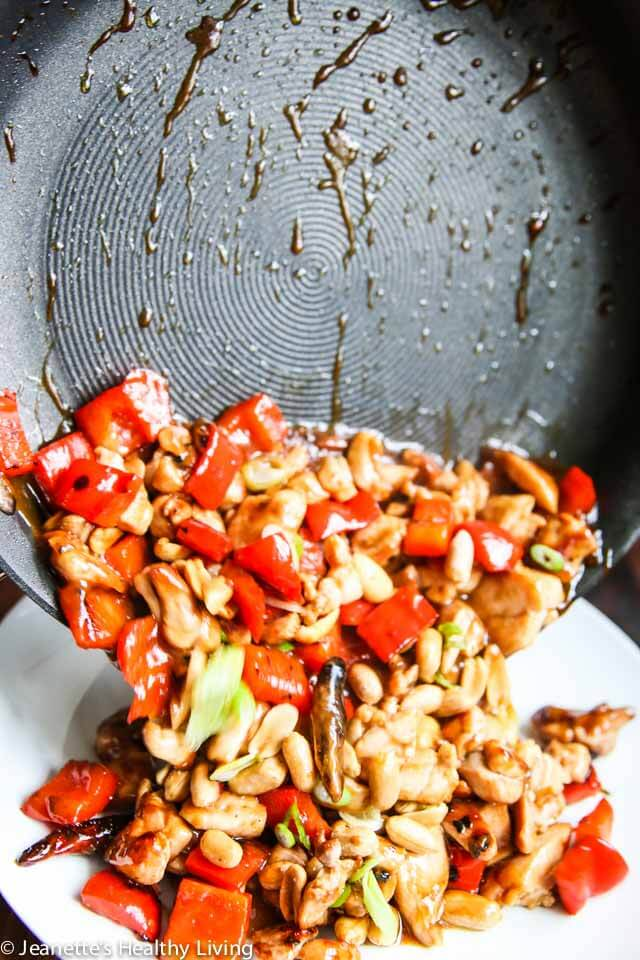 Kung Pao Chicken with Peanuts - I've been making this for 30 years and it's still my husband's favorite dish!