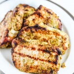 Thai Barbecue Pork Chops - use bone-in pork chops for the best results - these chops are moist, juicy and so flavorful!