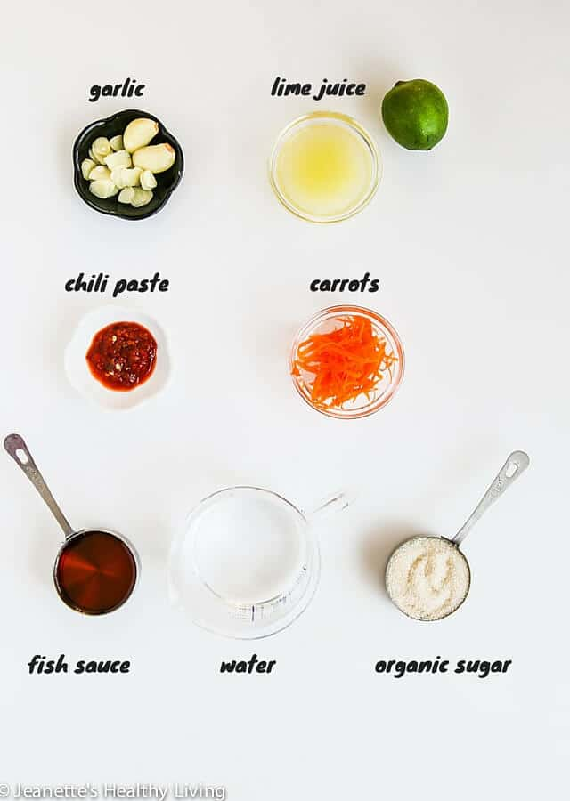 Vietnamese Dipping Sauce Nuoc Cham - this is a condiment that is served with virtually every Vietnamese meal | http://jeanetteshealthyliving.com