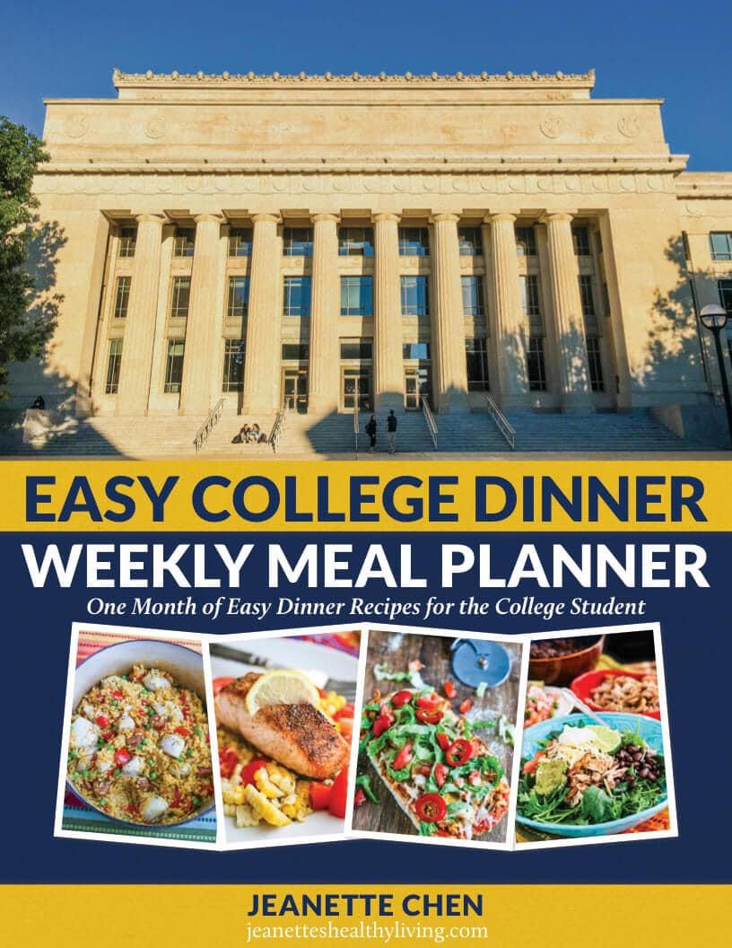easy college dinner weekly meal planner jeanette s healthy living