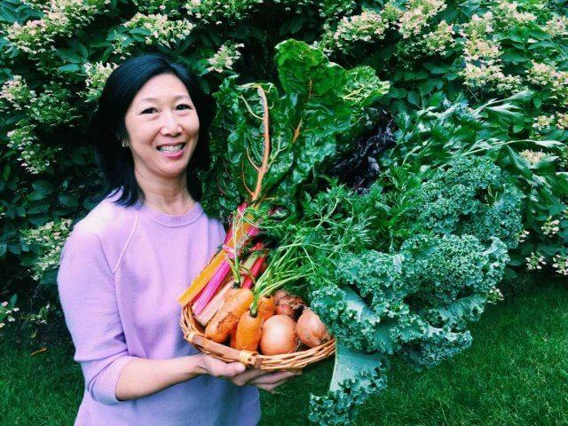 Jeanette Chen featuring Farmer's Market Basket