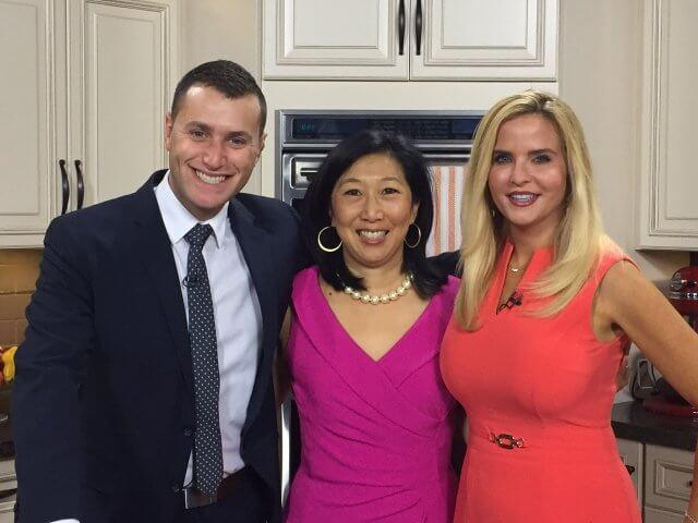 Jeanette Chen on WTNH Cooking For Cancer Patients