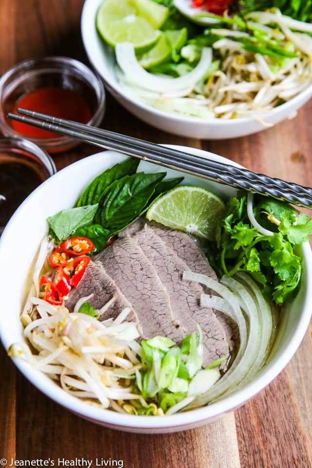Vietnamese Beef Pho Noodle Soup Recipe - Jeanette's ...