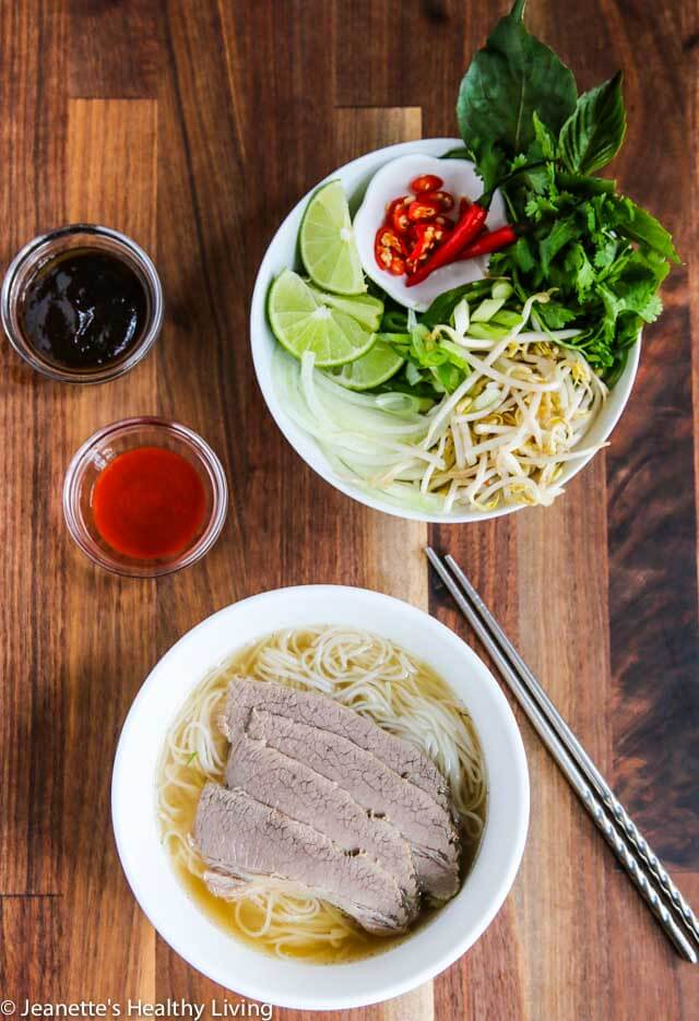 Vietnamese Beef Pho Noodle Soup RecipeJeanettes Healthy Living