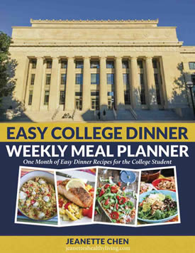 Weekly College Meal Planner