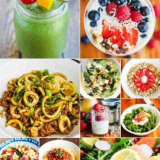 4 Week Healthy Eating Meal Plan