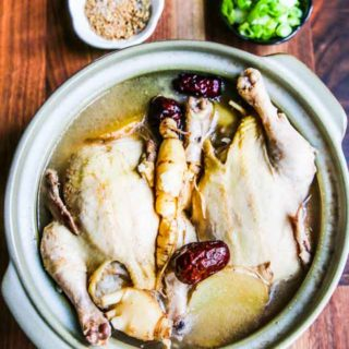 Korean Ginseng Chicken Soup Recipe