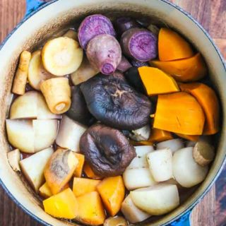 Japanese Root Vegetable Stew (Nishime) Recipe