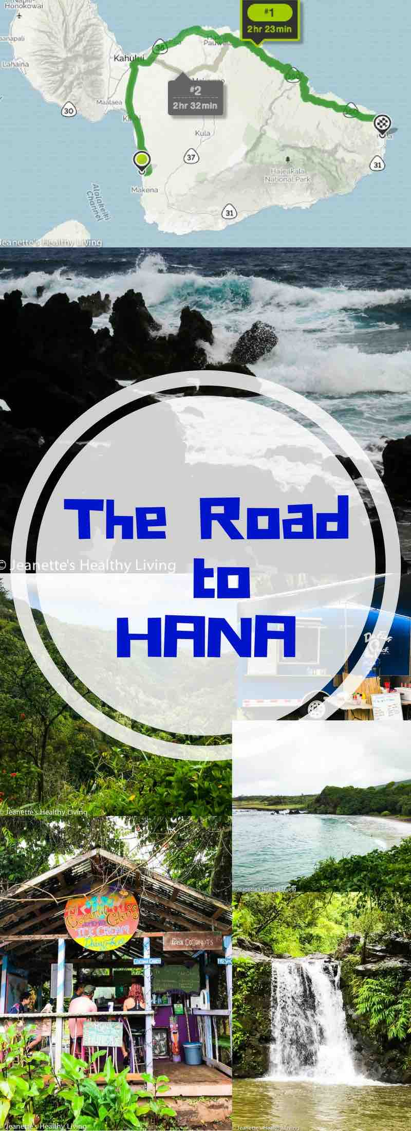 Road To Hana - beautiful views, waterfalls, lava tube, black beach, food trucks, coconut ice cream, banana bread