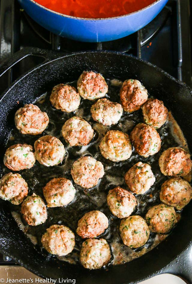 Best Italian Meatballs - these are hands down the best meatballs, tender and moist. They freeze well too