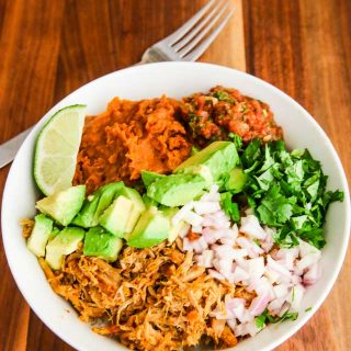 Instant Pot Colombian Shredded Pork Recipe