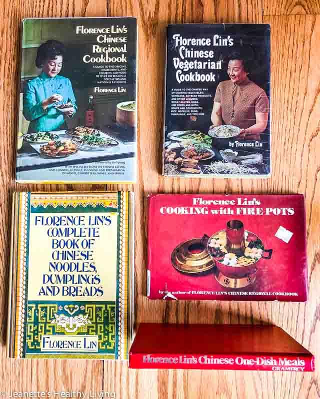 Florence Lin's Cookbooks - author and teacher