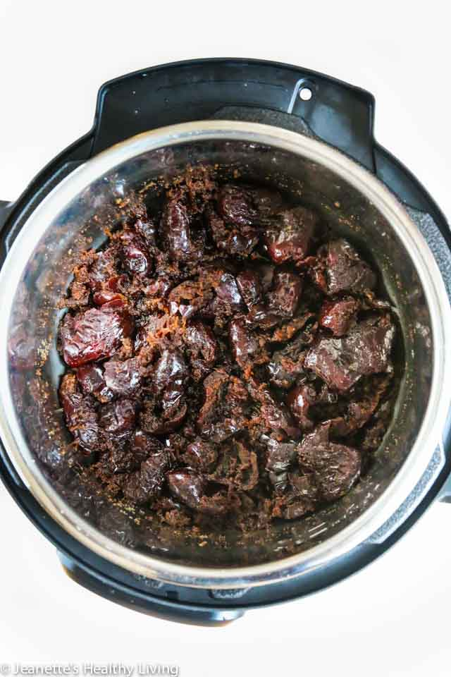 Jujube Date Jam - made from dried jujube dates, this jam has a deep rich flavor - used in Chinese New Year sticky rice cake