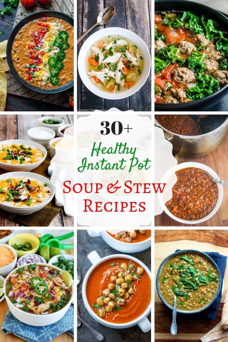 Healthy Instant Pot Soup Stew Recipes