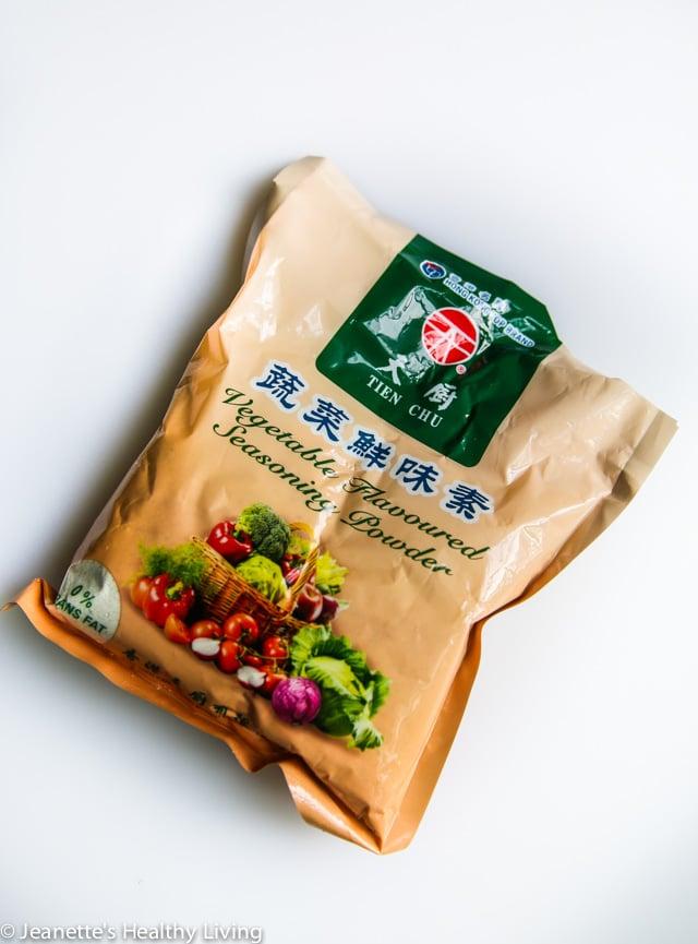 Instant Vegetarian Broth for ramen noodle soup