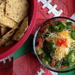 9 Layer Mexican Superbowl Dip © Jeanette