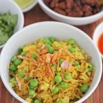 Burmese Fried Rice with Peas © Jeanette