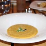 Butternut Squash Soup with Toasted Pumpkin Seed
