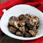 Cancer-Fighting Oven Roasted Mushrooms and Thyme