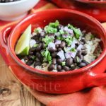 Slow Cooker Chipotle Style Black Beans - so easy you can make this at home