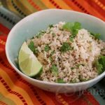 Chipotle Style Cilantro Lime Brown Rice
