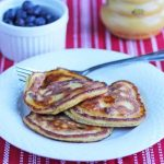 Coconut Flour Dark Chocolate Chip Pancakes © Jeanette