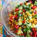 Corn Avocado Tomato Salad © Jeanette