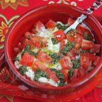 Easy Fresh Tomato Burrata Cheese Pesto Dip © Jeanette