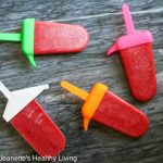 Healthy Fruit Punch Popsicles © Jeanette
