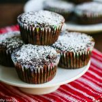 Gluten-Free Chocolate Oatmeal Banana Muffin - these are moist, delicious and chocolatey! They