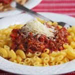 A Healthier Meat Sauce © Jeanette