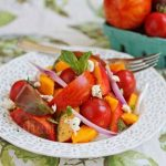 Heirloom Tomato Fruit Salad © Jeanette