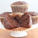 Vegan Mocha Chocolate Chip Muffins