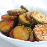 Korean Spicy Cucumber Salad Banchan