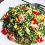 Kale Quinoa Tomato Corn Salad © Jeanette