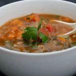 Lentil Barley Chard Soup ~ http://jeanetteshealthyliving.com