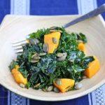 Massaged Kale Salad with Mango © Jeanette