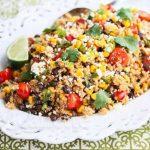 Mexican Corn Quinoa Salad © Jeanette