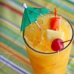 Mango Planters Punch Mocktail © Jeanette