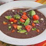 Pressure Cooker Cuban Black Bean Soup © Jeanette