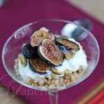 Roasted Fig Yogurt Chai Spiced Sorghum Parfait © Jeanette