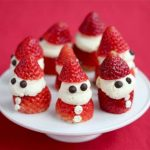 Strawberry Whipped Cream Santa © Jeanette