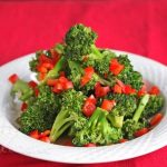 Stir Fry Broccoli and Red Peppers © Jeanette