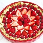 Strawberry Almond Cream Tart © Jeanette