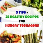 5 Tips and 25 Healthy Recipes for Hungry Teenagers © Jeanette