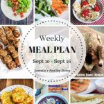 Healthy Meal Plan Sept 10 - Sept 17