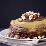 Nutella crepe cake by kumquat
