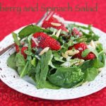Strawberry Spinach Salad with Poppy Seed Dressing