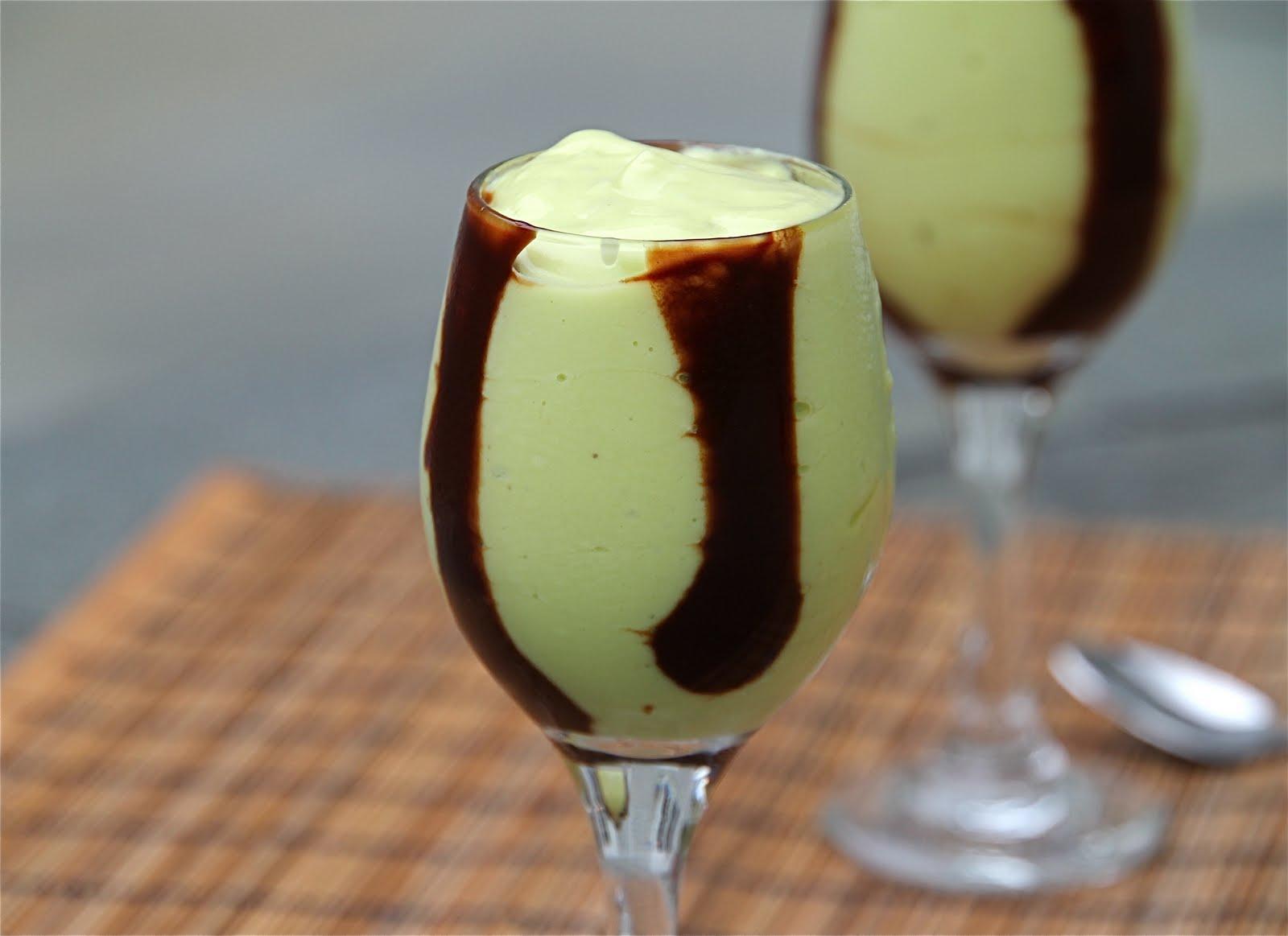 Easy Avocado Smoothie - Basic and Elegant {Avocado Mousse with ...