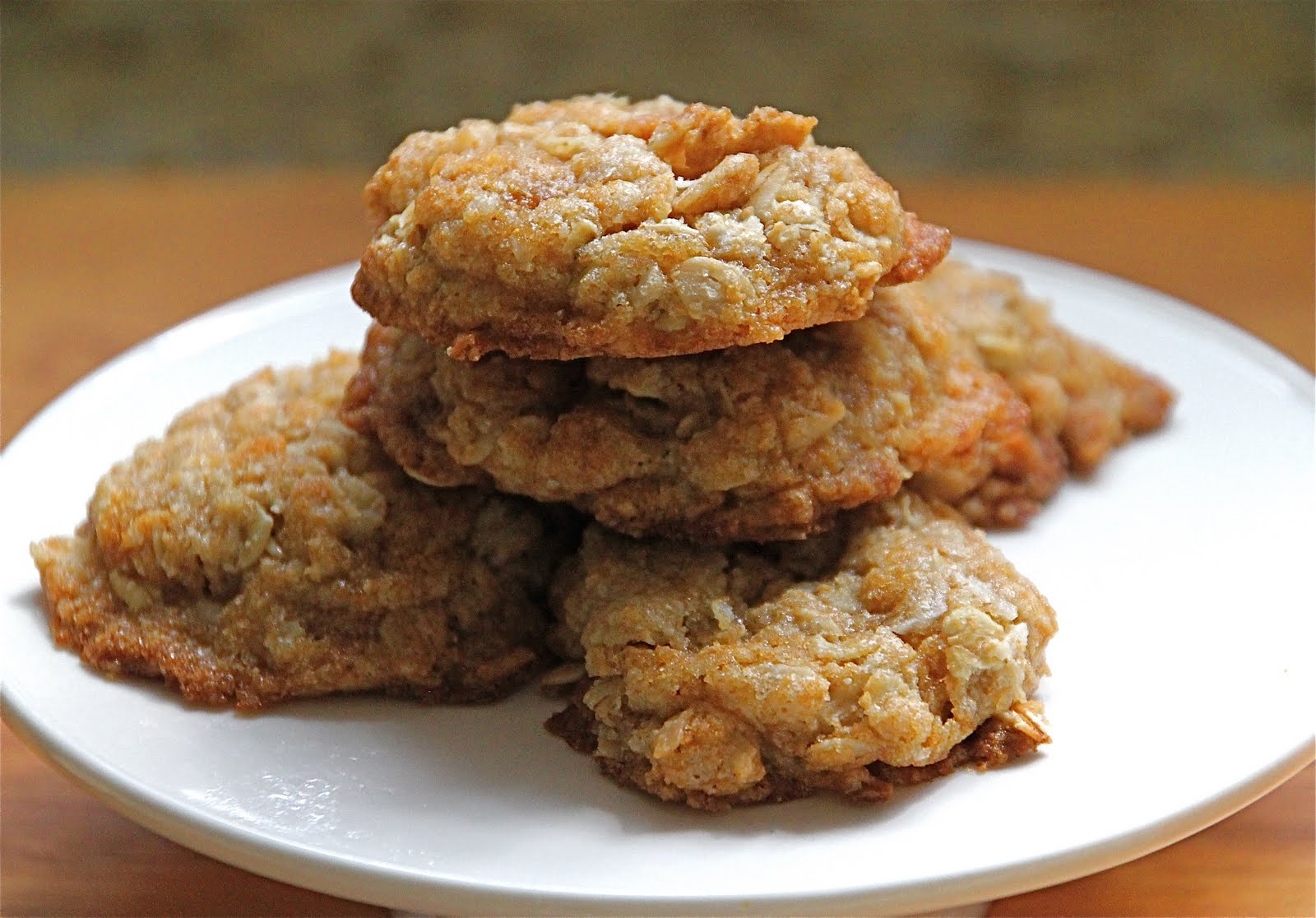 Anzac Cookies {Secret Recipe Club} - Jeanette's Healthy Living